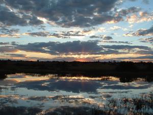 1c.Sunset over Mtlobo dam.jpg