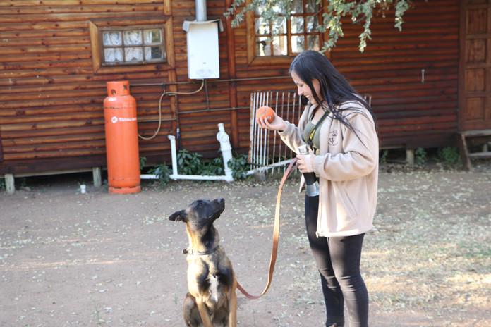 Nkombi and training.JPG