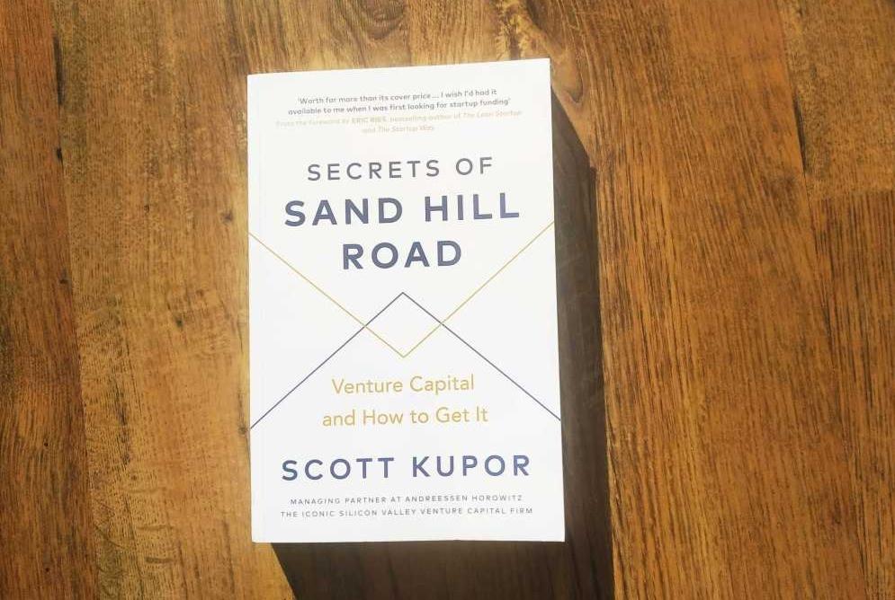Scott Kupor's Secrets of Sand Hill Road book