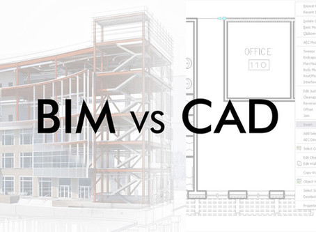 What's the technical difference between CAD and BIM?
