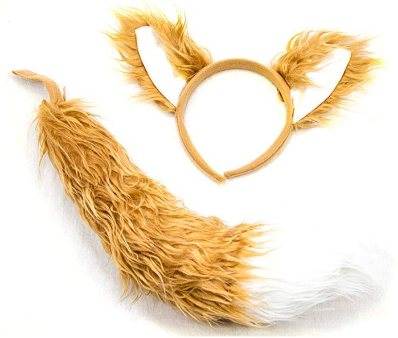 Fox Ear & Tail Set