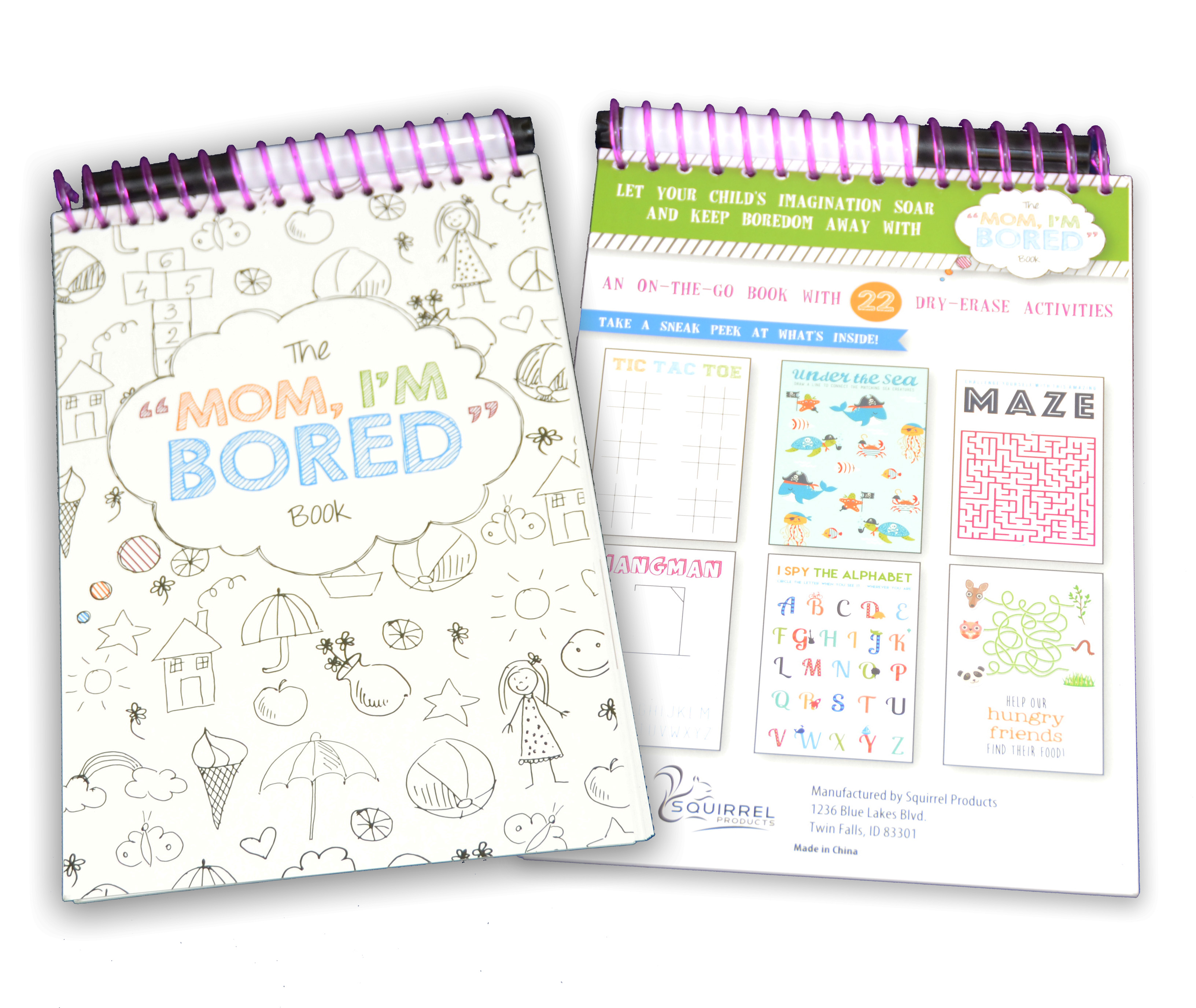 Mom I'm Bored! Activity Book