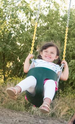 Toddler Bucket Swing