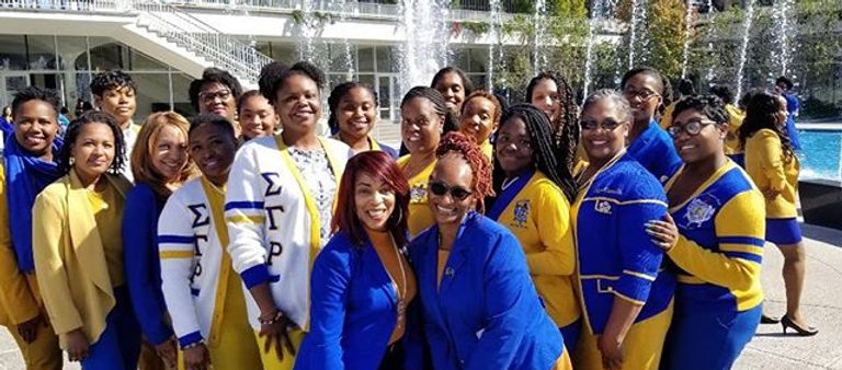 Sorors enjoyed a day of enrichment and b