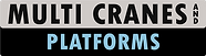 multi cranes and platforms logo