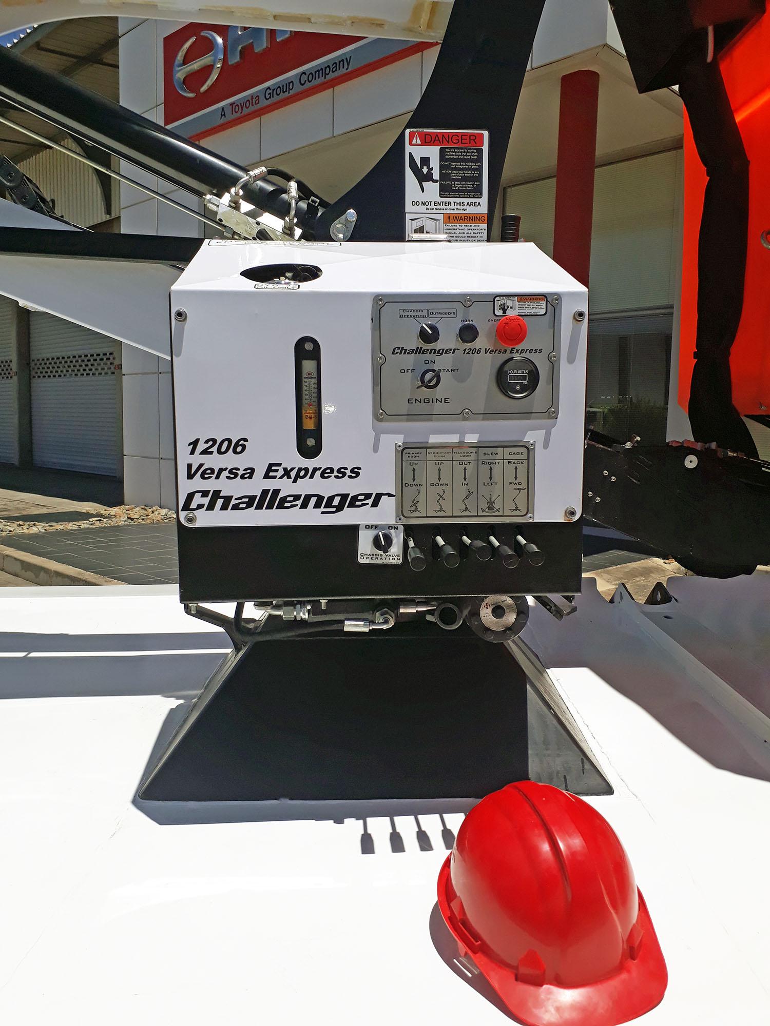 aerial platform controls