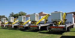aerial platforms on trucks