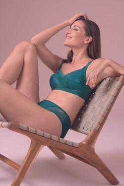Dalia van Anita Care in smaragd