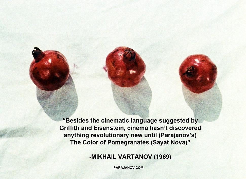 Mikhail Vartanov on Sergei Paradjanov's The Colour of Pomegranates (Sayat Nova)