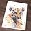 Thumbnail: Tiger Cub Watercolor Print