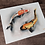 Thumbnail: Koi Fish Original Watercolor Painting