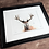 Thumbnail: Elk Watercolor Print