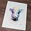 Thumbnail: Spirit Cow Watercolor Print