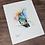 Thumbnail: Mountain Gem Hummingbird Watercolor Print