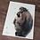 Thumbnail: Chimpanzee Watercolor Print