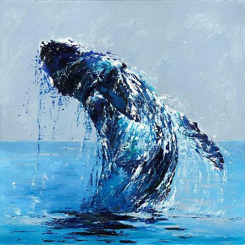 Original 'Splash' Oil Painting