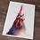 Thumbnail: Chicken Watercolor Print