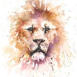 Lion Watercolor, 18x24, 2015