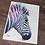 Thumbnail: Zebra Watercolor Print