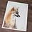 Thumbnail: Grey Fox Watercolor Print