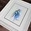 Thumbnail: Golden Tailed Hummingbird Watercolor Print