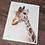 Thumbnail: Giraffe Watercolor Print 2