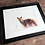 Thumbnail: Red Fox Watercolor Print