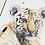 Thumbnail: Tiger Cub Original Watercolor