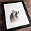 Thumbnail: Raccoon Watercolor Print