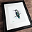 Thumbnail: Anna's Hummingbird Original Watercolor Painting