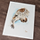 Thumbnail: Barn Owl Watercolor Print