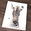 Thumbnail: Zebra Colt Watercolor Print
