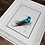 Thumbnail: Blue Hummingbird Watercolor Print
