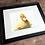 Thumbnail: Duckling Watercolor Print