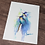 Thumbnail: Golden Tailed Hummingbird Watercolor Print