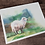 Thumbnail: Sheep Original Watercolor Painting