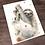 Thumbnail: Sloth Watercolor Print