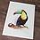 Thumbnail: Rainbow Toucan Watercolor Print