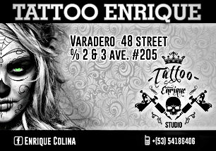 Tattoo Enrique Colina