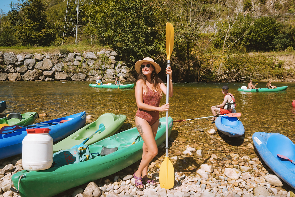 Descenso del Sella en Asturias con Jo&Jane