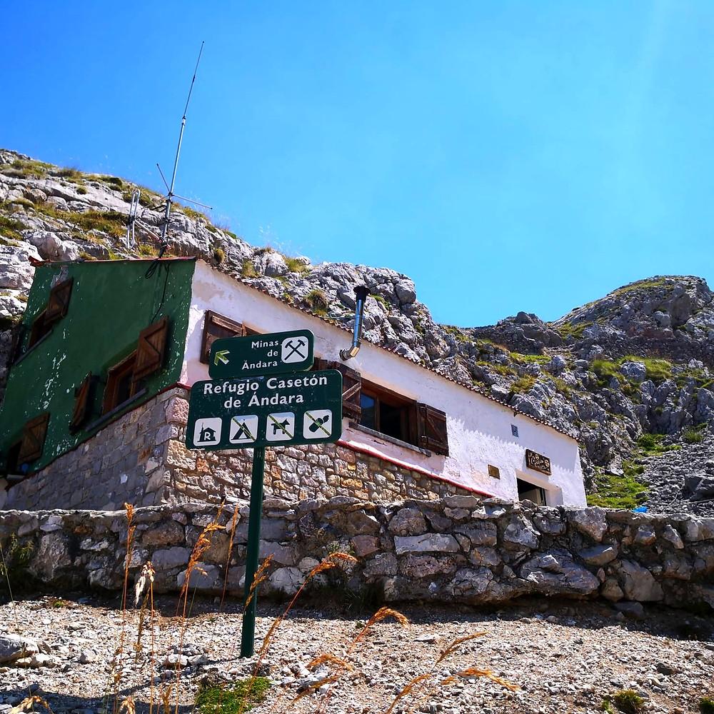 Refugio Casetón de Ándara, Cantabria