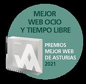 Premio a la mejor web de Ocio y Tiempo Libre de Asturias