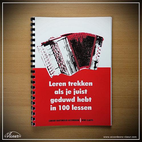 Leren trekken als je juist geduwd hebt in 100 lessen
