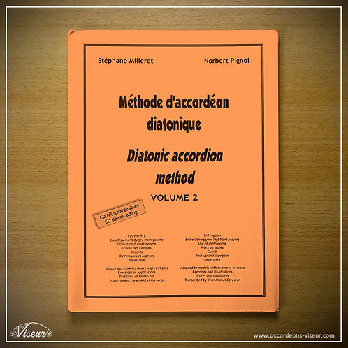 Methodeboek diatonische accordeon - volume 2