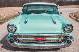 Vintage Blue Coupe