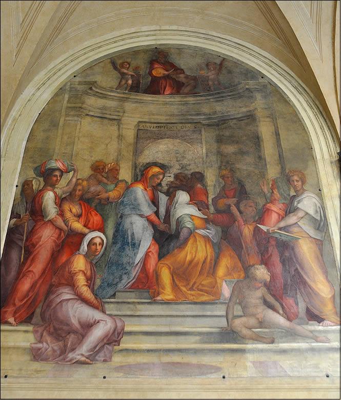 Pontormo - Fresco Visitation