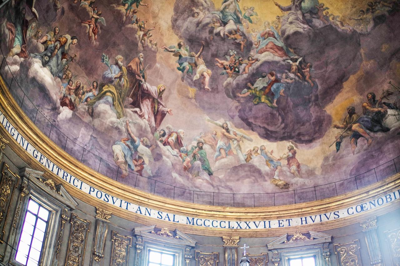 Santissima_Annunziata_Ceiling
