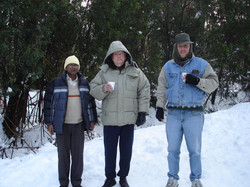 The snow men