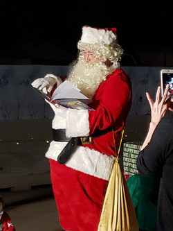 Santa reading to all