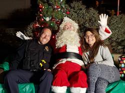 Santa, CAO Steve & Krista, NSD